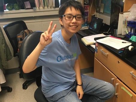 Yu (Celine) Chou, sophomore undergrad researcher, joins Iwase lab!