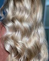 Hair color by Rocio