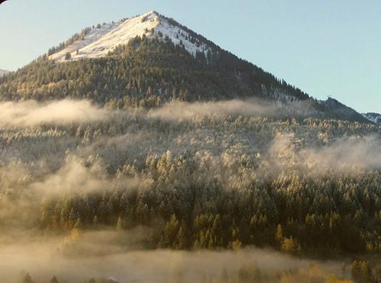 Our view of Mont de Grange