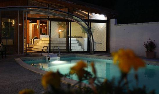 Hotel avec piscine à la montagne