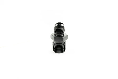 Oil-Less Water Fitting 3/8 NPT to -6 AN