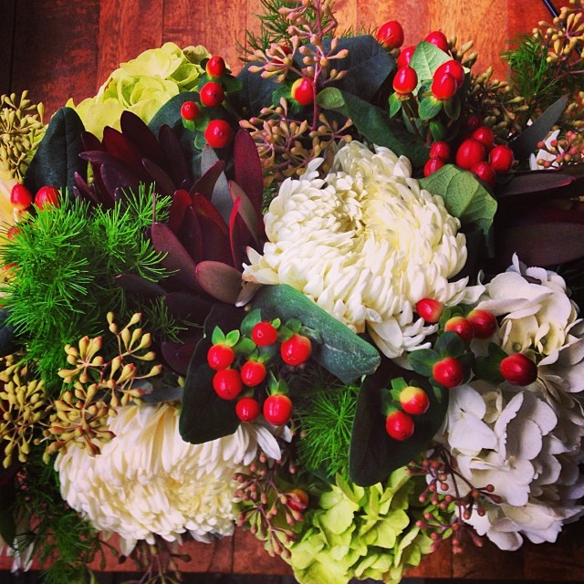 Private party florals for Piccolo Sogno Due #bottleandbranch #piccolosognodue #willworkforpasta