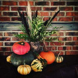 Pumpkins and grasses galore at The Gage