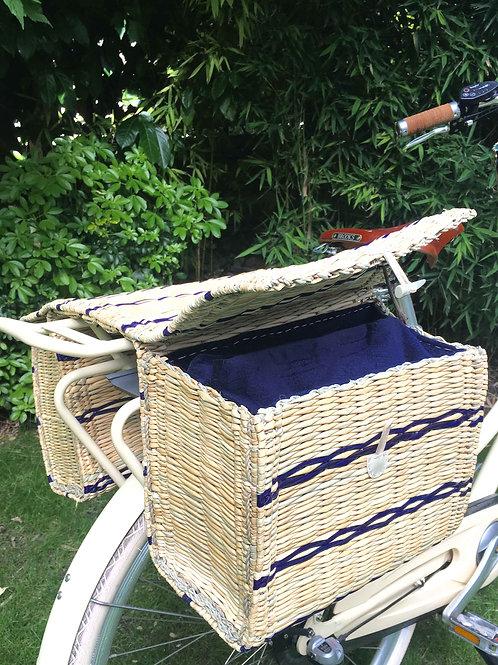 Sacoche vélo en osier Isotherme