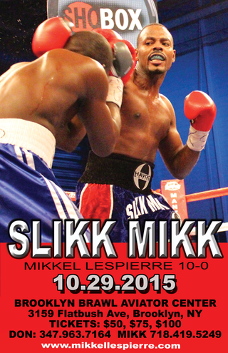 MIKKEL LESPIERRE SET FOR ACTION OCT 29