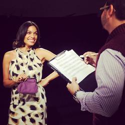 Somos Creative Co-founder Directing Actress Rosario Dawson