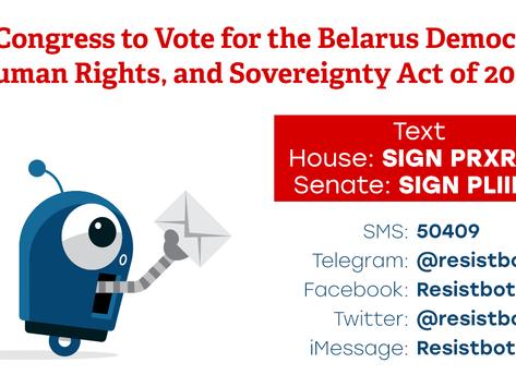 Help Us Promote Belarus Democracy Act