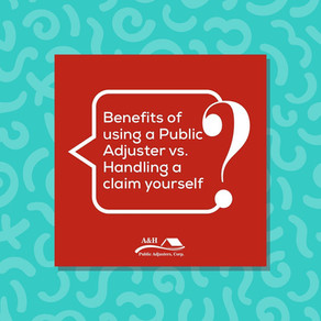 Benefits of Using a Public Adjuster