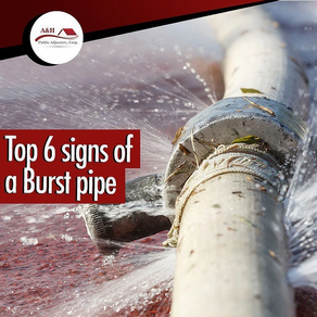TOP 6 SIGNS A PIPE HAS BURST IN YOUR HOME