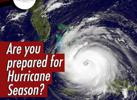 Advance preparation for Hurricane season