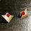 Thumbnail: Boucles d'oreille red corner