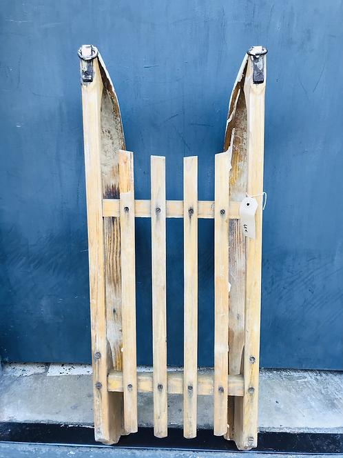Luge en bois - L : 76 cm
