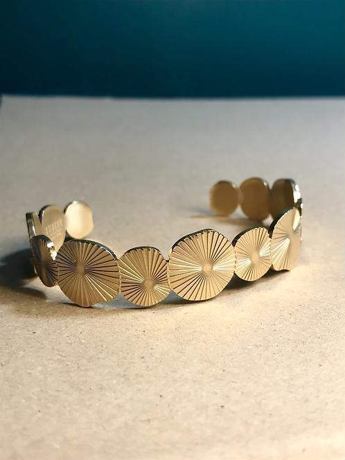 Bracelet gold sun