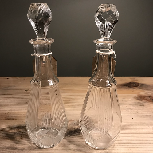 Flacon en verre 1930