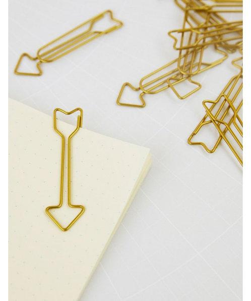 Trombones x15 dorés en Flèches