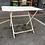 Thumbnail: Table de jardin en fer