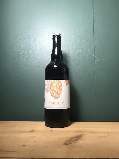 Bière ambrée bio de Lozère 75cl