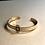 Thumbnail: Bracelet gold & black star