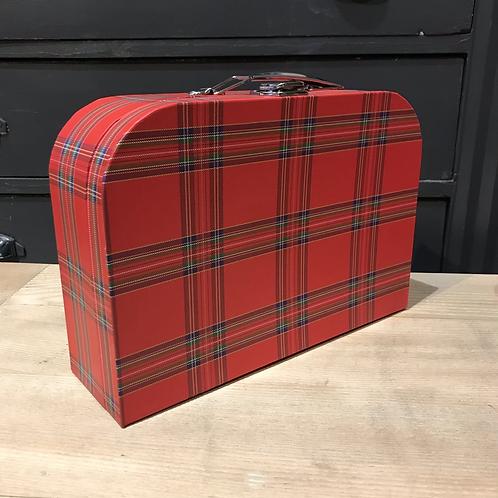 Valise écossaise petit modèle