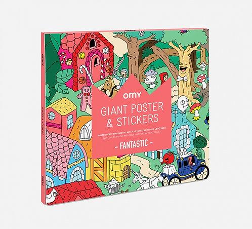 Poster géant avec stickers Fantastic