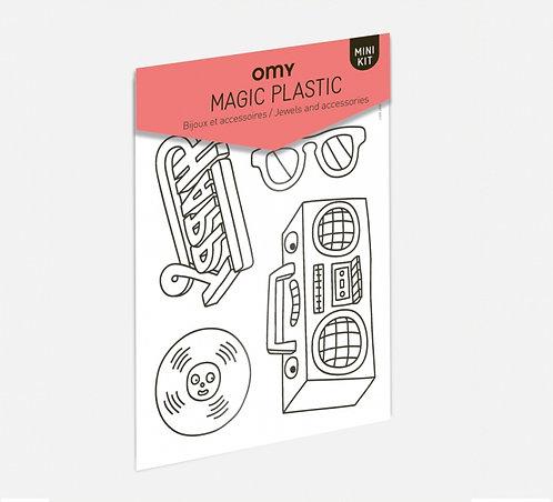Kit coloriage Magic plastic