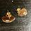 Thumbnail: Boucles d'oreille gold shell