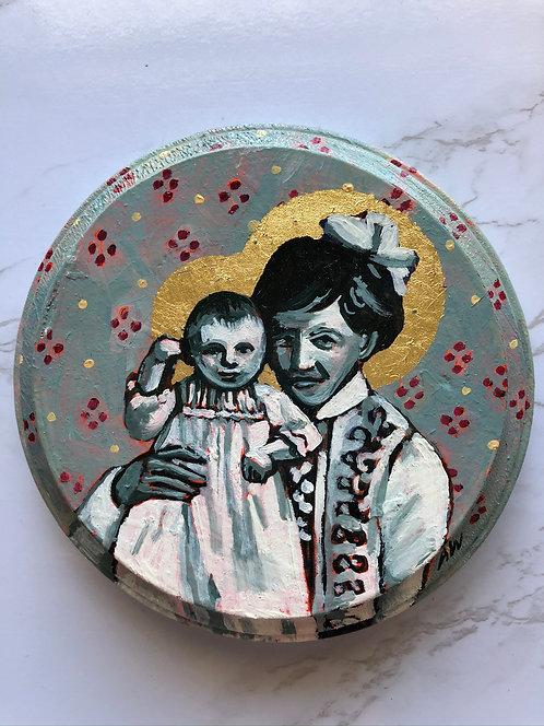 Grandmother Rose & Mini Grandmother