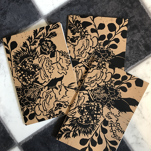 Hand-Printed Notebook
