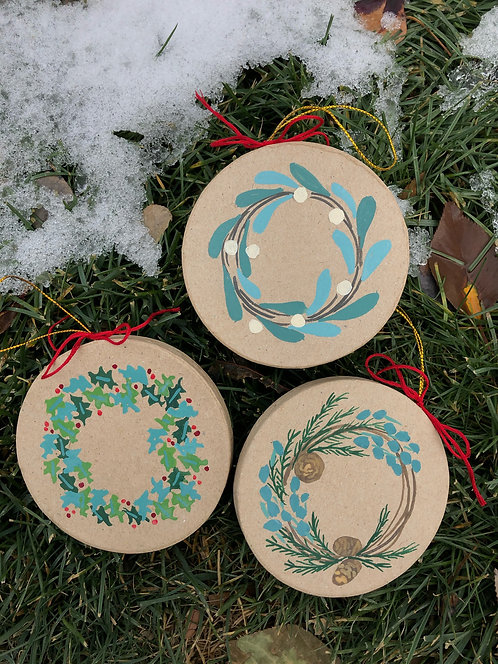 Ornament Pack of Three
