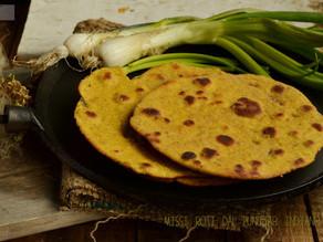Pane Chapati alla Curcuma: facile, veloce e ottimo accompagnamento...