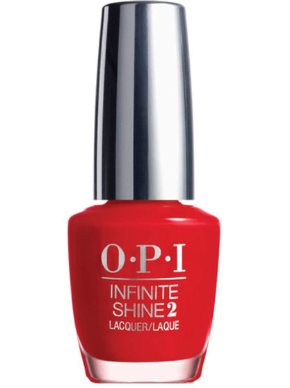 OPI Infinite Shine - Unequivocally Crimson