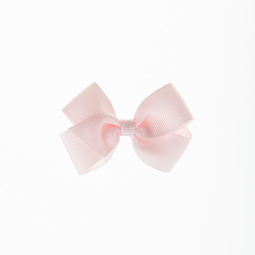 Small London Bow Hair Tie - Powder Pink