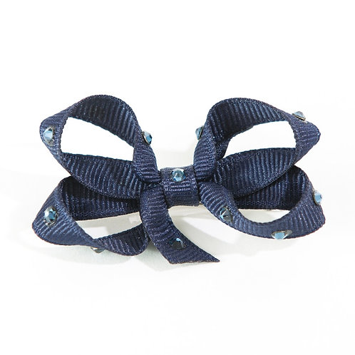 Small Bow - Navy