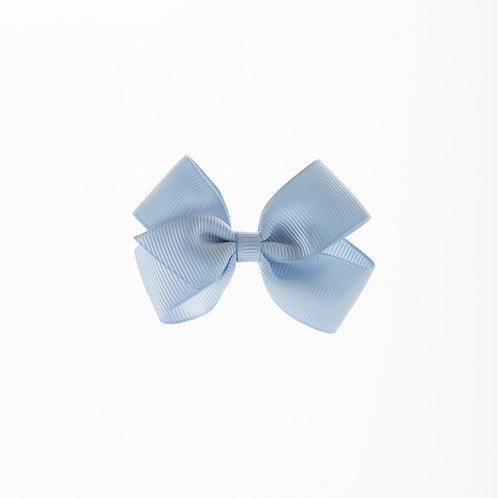Small London Bow Hair Tie - Bluebird