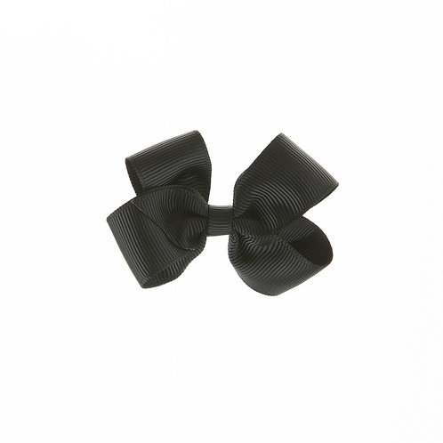 Small London Bow Hair Tie - Black