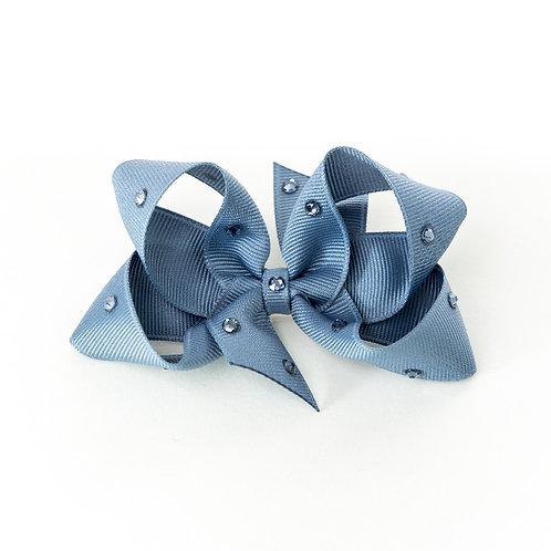 Medium Bow - Antique Blue