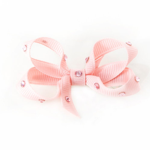 Small Bow - Light Pink