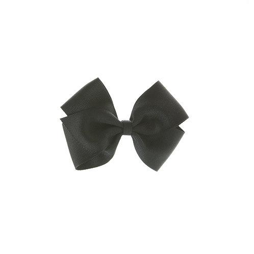 Medium London Bow Hair Tie - Black