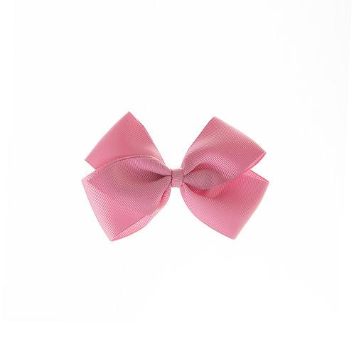 Medium London Bow Hair Tie - Wild Rose