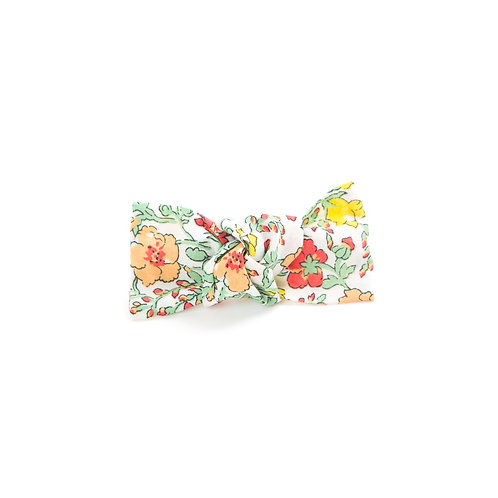 Liberty Knot Hair Clip - Classic Meadow Orange