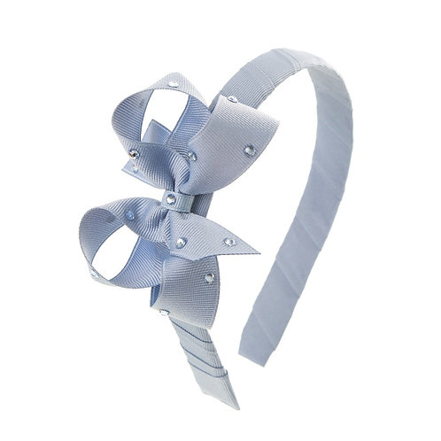 Bow Hairband - Wisteria