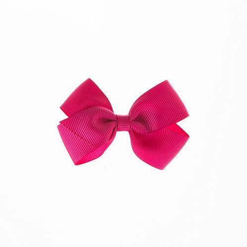 Small London Bow Hair Tie - Azalea