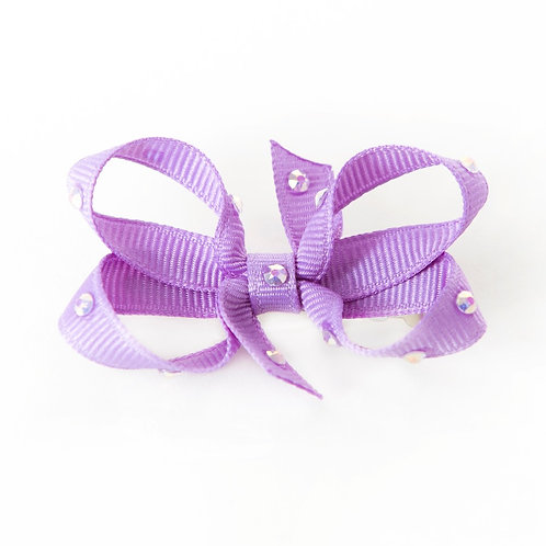 Small Bow - Dark Orchid