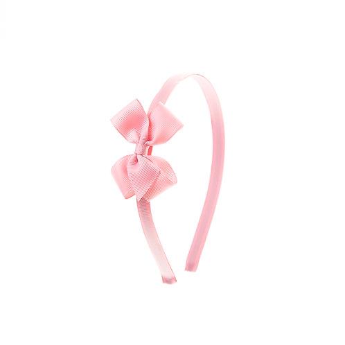 Small London Bow Hairband - Peony