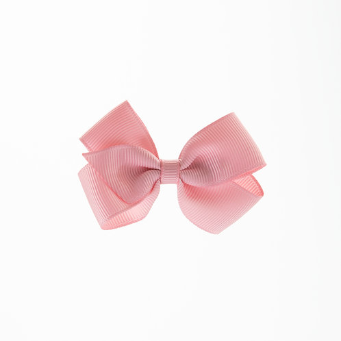 Small London Bow Hair Tie - Peony