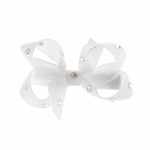 Small Bow - White