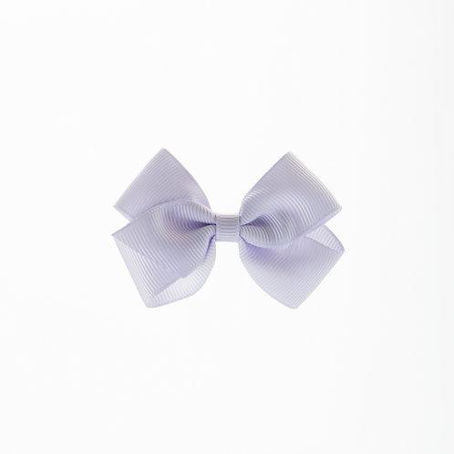 Small London Bow Hair Tie - Lilac Mist
