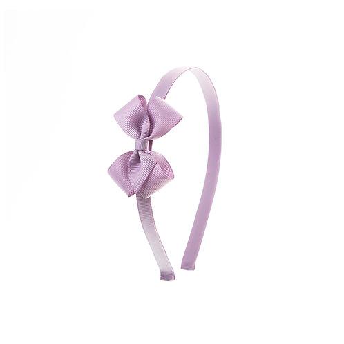 Small London Bow Hairband - Fresco