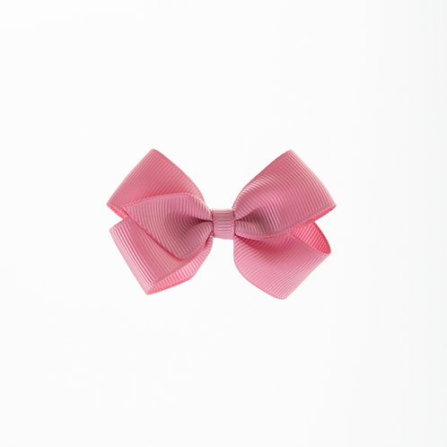 Small London Bow Hair Tie - Wild Rose