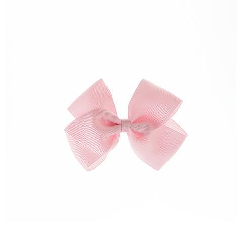 Medium London Bow Hair Tie - Pearl Pink